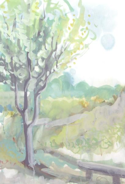2005金山緑地公園水彩